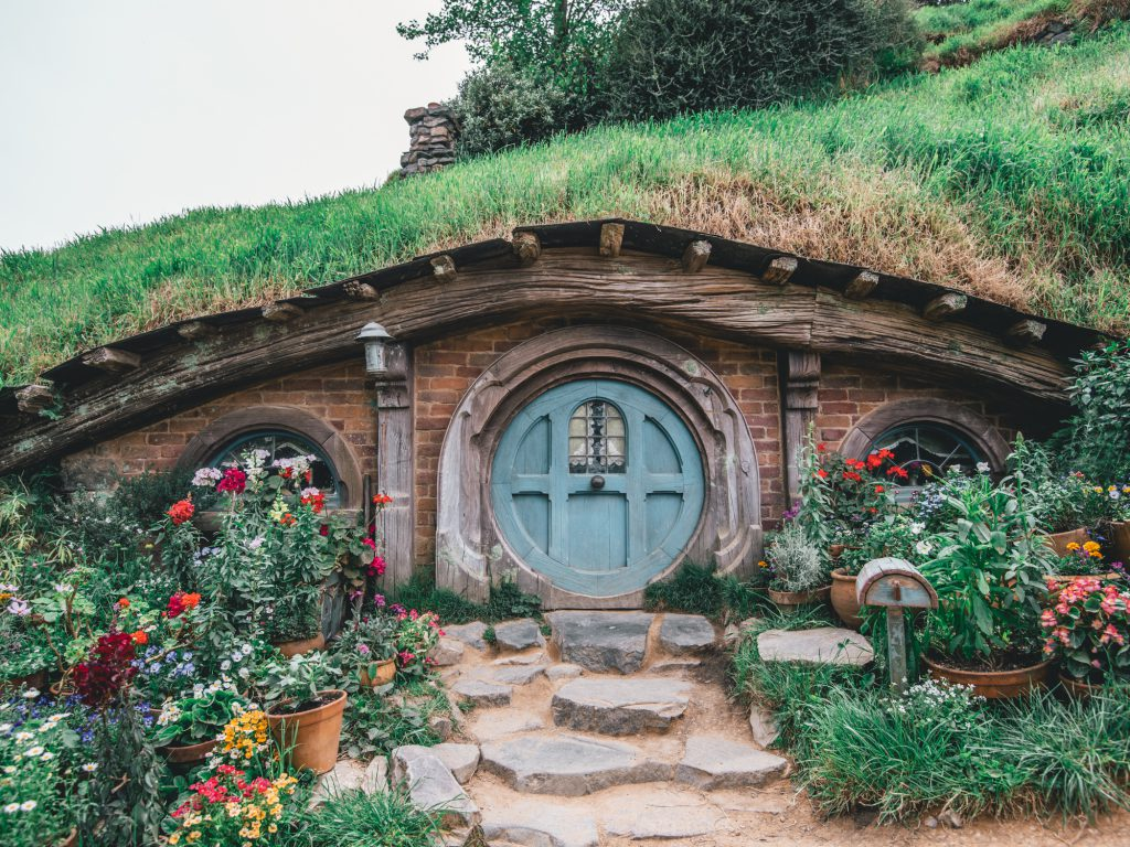 Sorry to dissapoint, but you can't go inside a hobbit hole