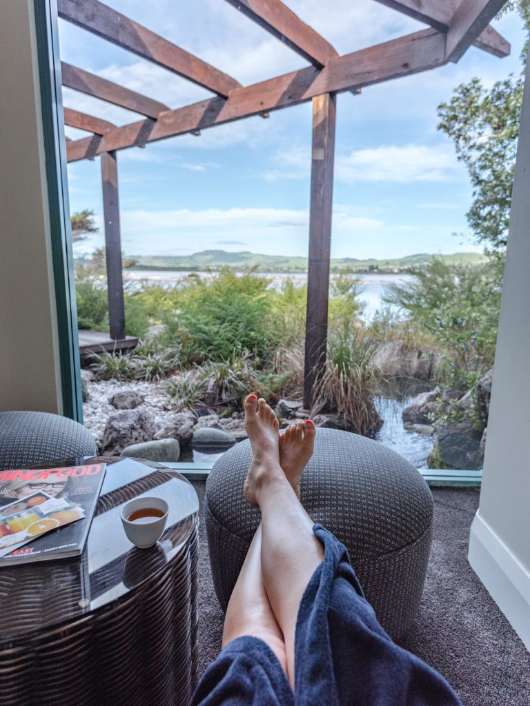 A Must Try When Visiting the Polynesian Spa in Rotorua is the SIGNATURE AIX THERAPY