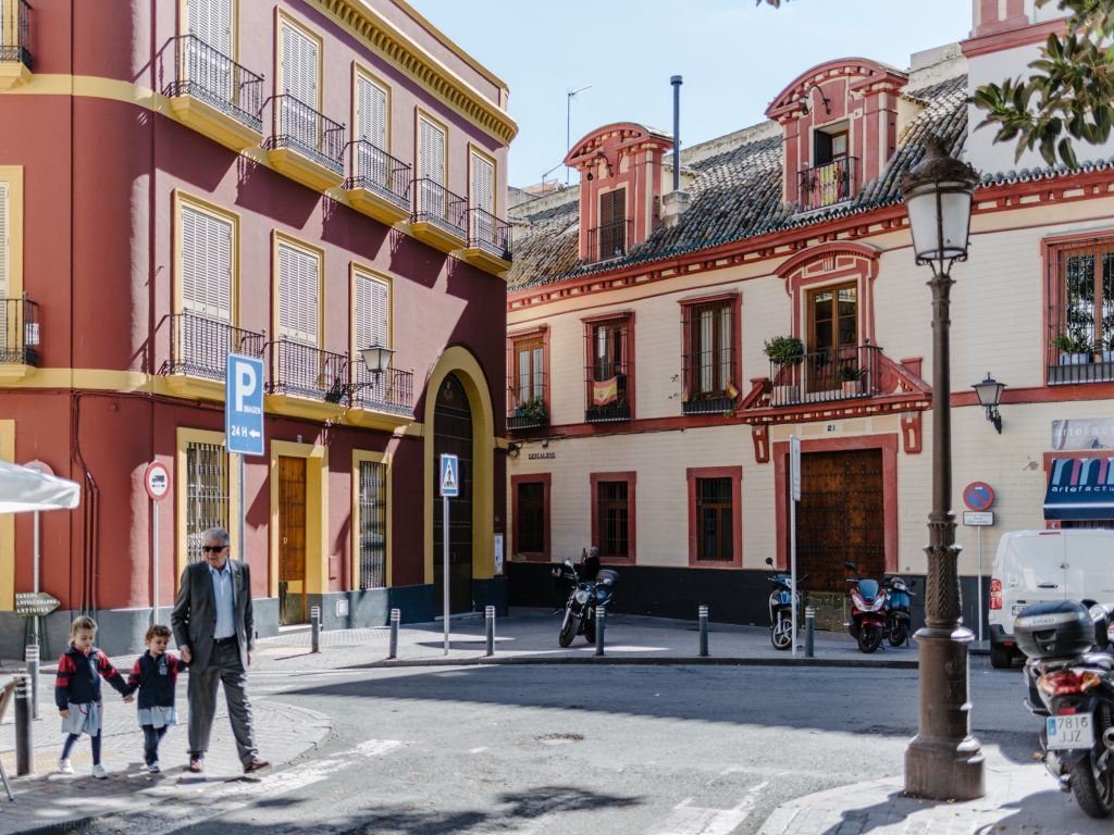 Moving Around Seville With Kids