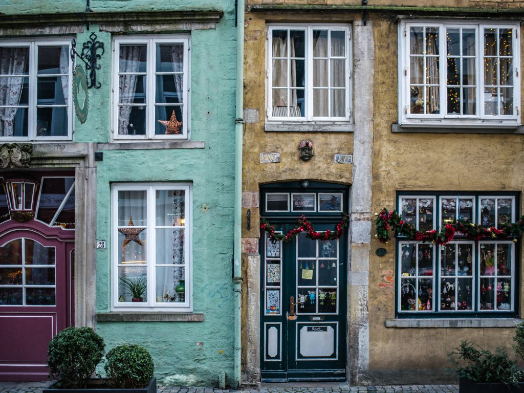 24 hours in Bremen - tips for a one day visit - Schnoor Viertel