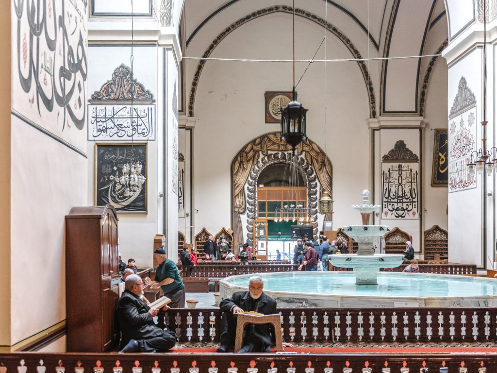 Visit Bursa Grand Mosque - the 5th holiest mosque in Islamic world