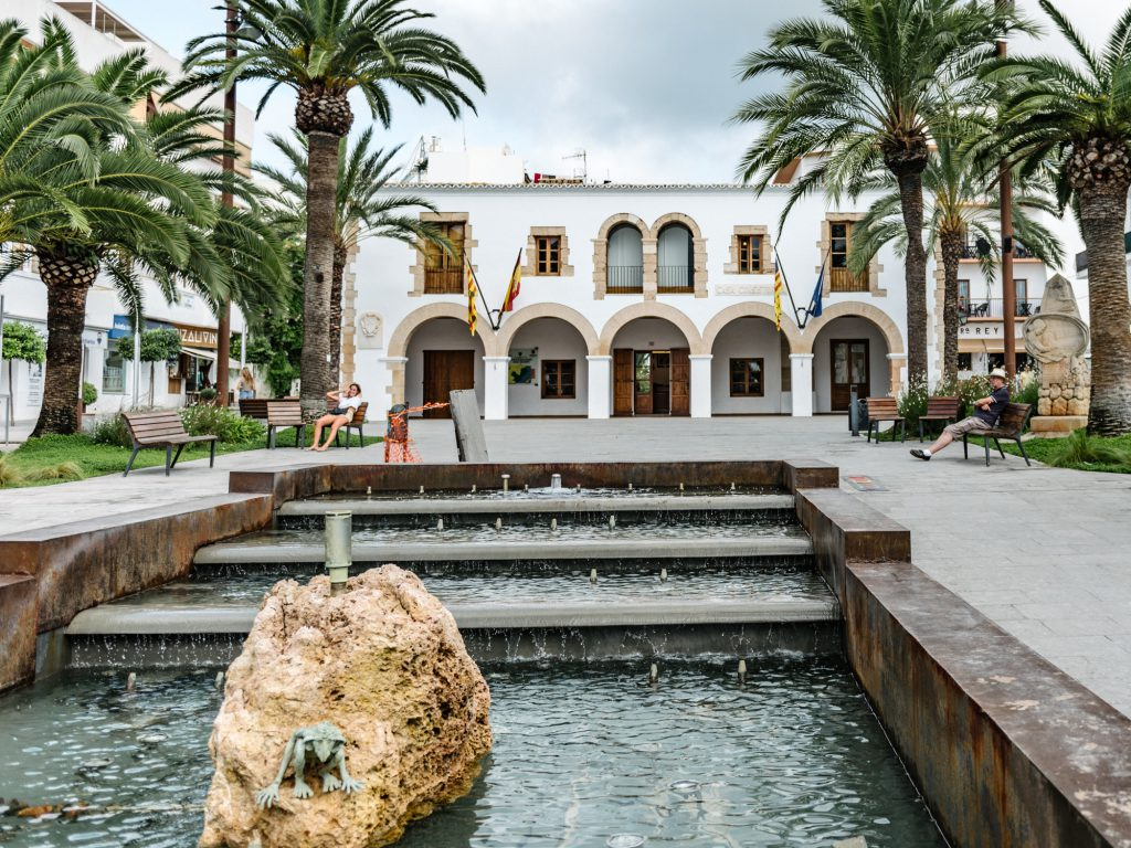 Santa Eulalia des Riu on a Day Trip With Kids - spot blonde elf around the town