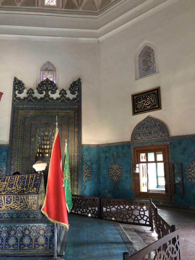 Visit the Green Tomb (Yeşil Türbe)